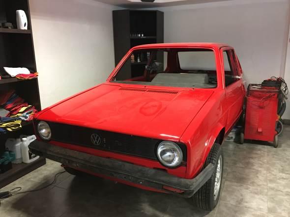 Car Volkswagen Golf MK1