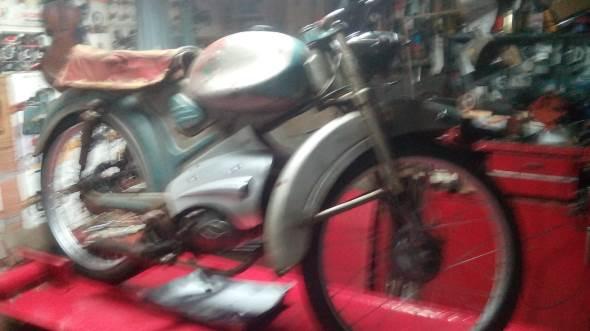 Legnano Capry 1958 Motorcycle