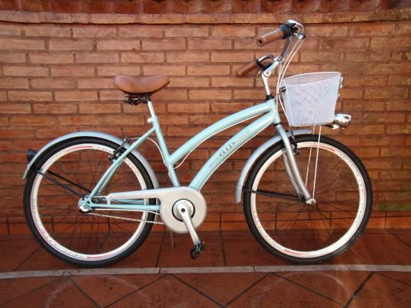Bicicleta Bicicleta De Paseo Flowers R26
