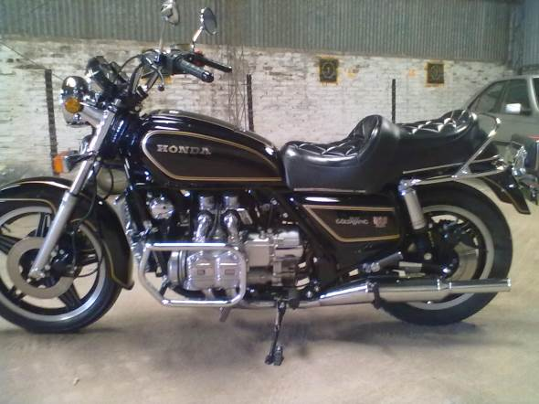Moto Honda Goldwing GL 1100