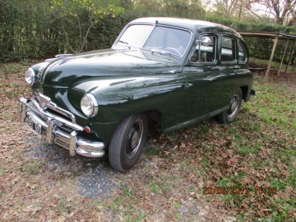 Auto Standard Vanguard 1953