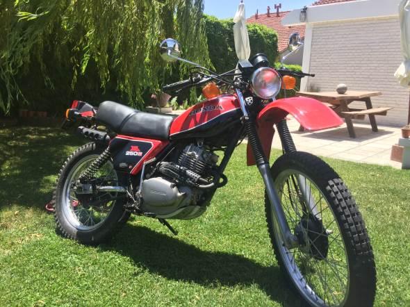 Moto Honda XL250S