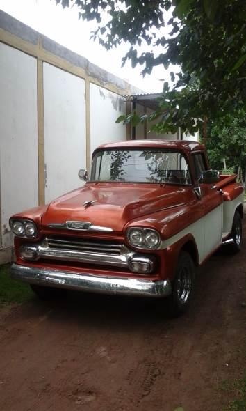 Car Chevrolet Apache 1958