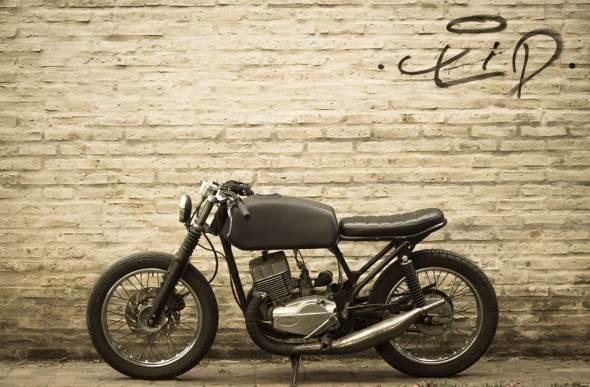 Motorcycle Jawa 640