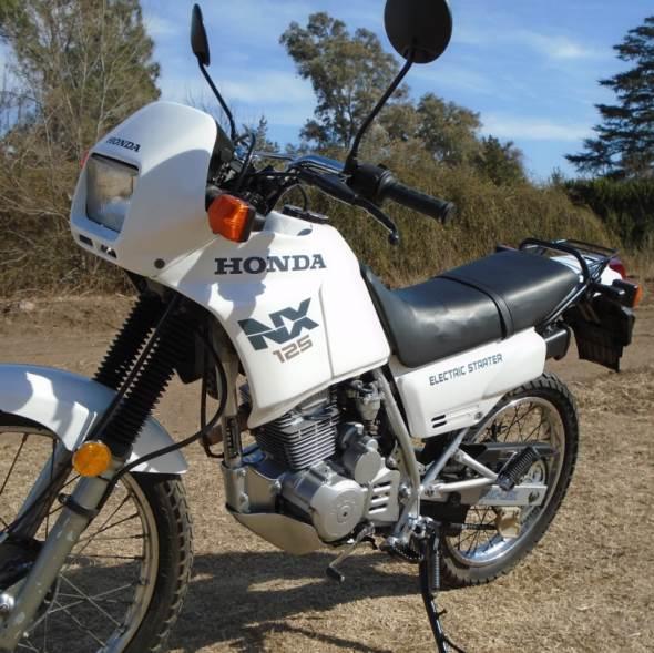 Motorcycle Honda Nx 125