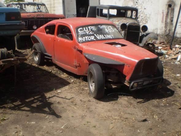 Auto Chevrolet Coupé 1940
