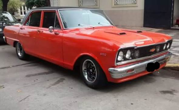 Car Chevrolet 400 SS 1974