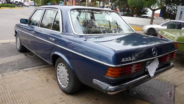 Car Mercedes Benz 230 E 1980