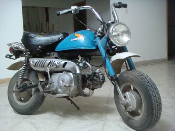 Motorcycle Honda J 50 Monkey