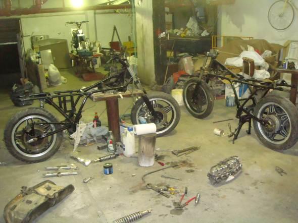 Motorcycle Honda CBX 1047