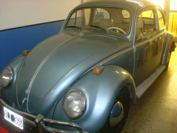Car Volkswagen Escarabajo 1958