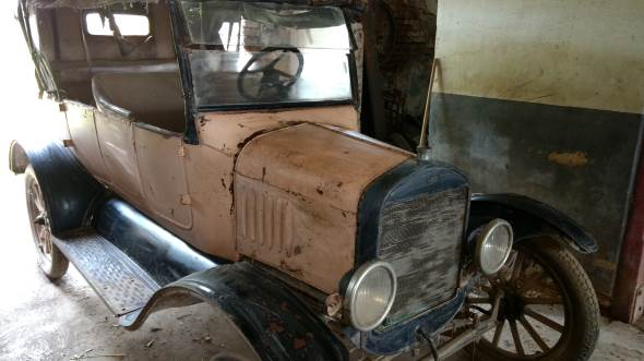 Car Ford 1925 Touring