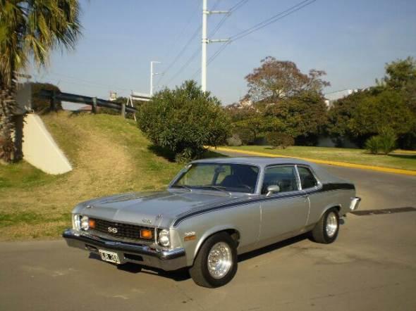Car Chevrolet Nova 1973