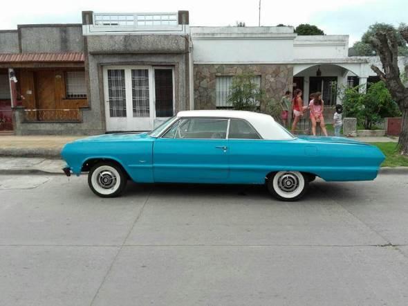 Car Chevrolet Impala Super Sport  1963
