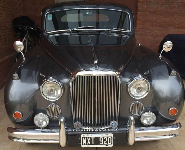 Auto Jaguar Mark LX 1961