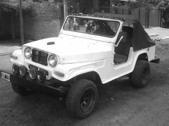 Auto Jeep Potro Chassis Baqueano 62