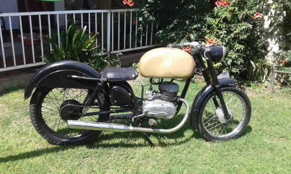 Moto Zanella 125 1962