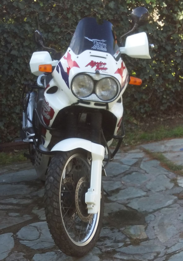Motorcycle Honda Africa Twin