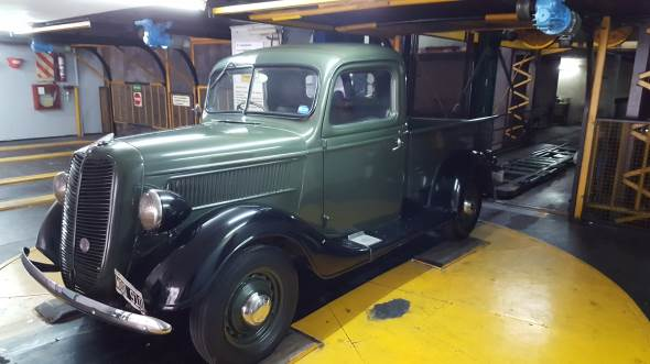 Auto Ford 1937 Pick Up