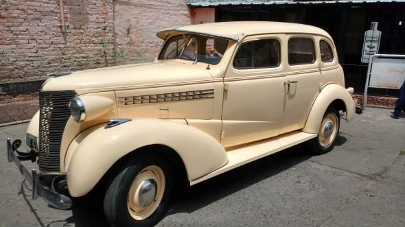 Car Chevrolet Master De Luxe 1938