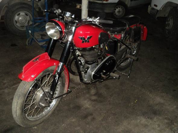 Motorcycle Matchless 500