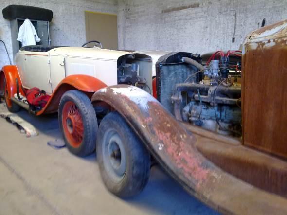 Car Graham Paige Roadster 1929