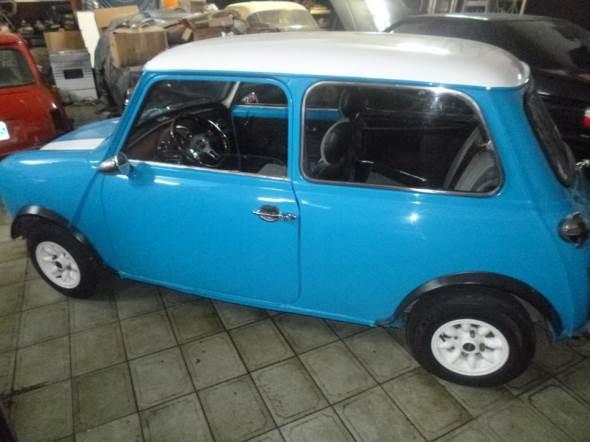 Car Mini Cooper 1981