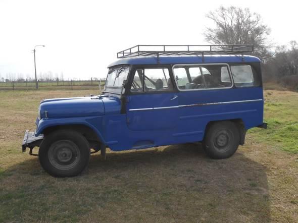 Car Jeep IKA 1961