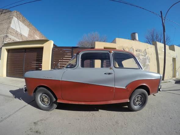 Car Isard 700 Coupé 1962