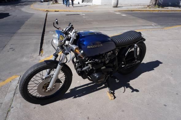 Motorcycle Honda Cb 550