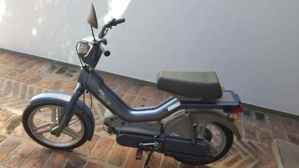 Motorcycle Atala Green LF