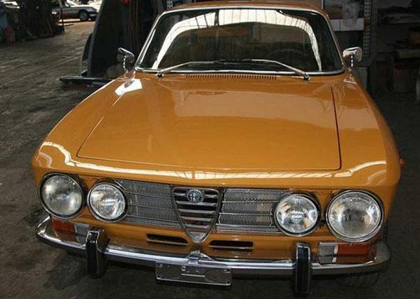 Car Alfa Romeo 1750 Bertone