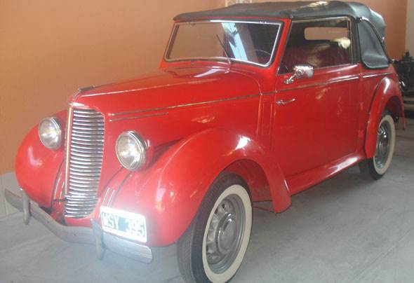 Car Hillman 1947 Cabriolet