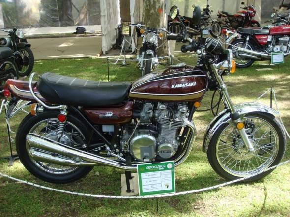 Moto Kawasaki Z1 900 1975