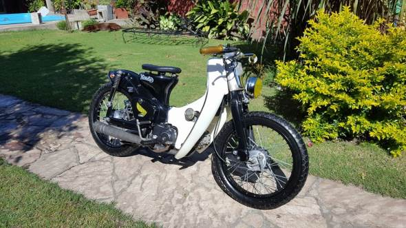 Motorcycle Honda C90 Econo Power