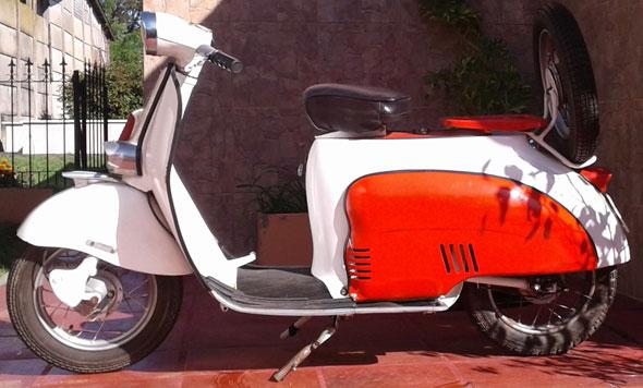 Motorcycle Garelli 1960