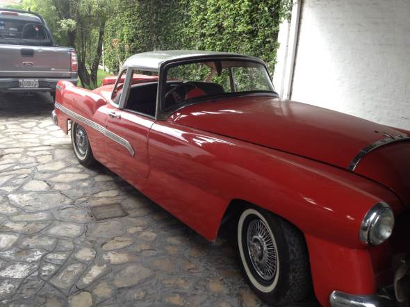 Auto Ford Lincoln 1956