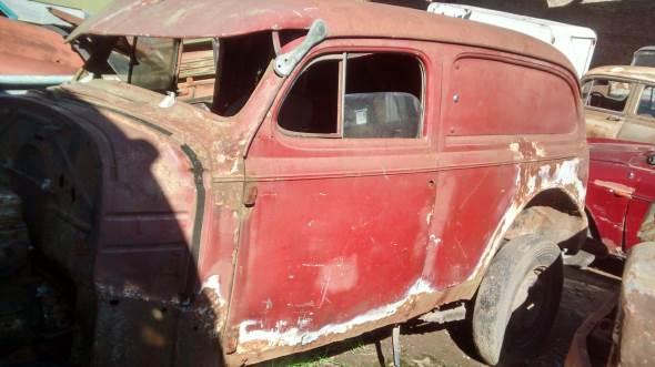Auto Chevrolet 1939 Delivery