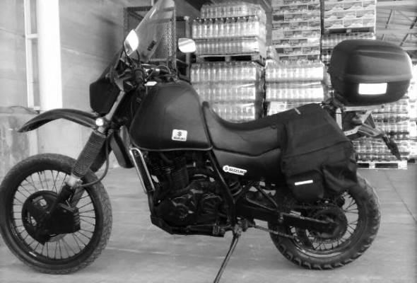 Suzuki DR Motorcycle