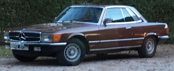 Car Mercedes Benz SLC 280