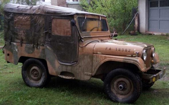Auto Jeep IKA M 101 1976