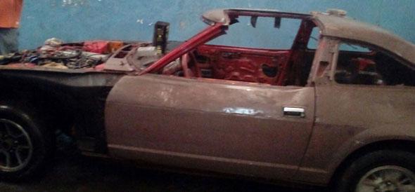 Car Datsun 280 ZX T-Top 1981