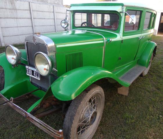Auto Chevrolet Sedán AC Internacional  1929