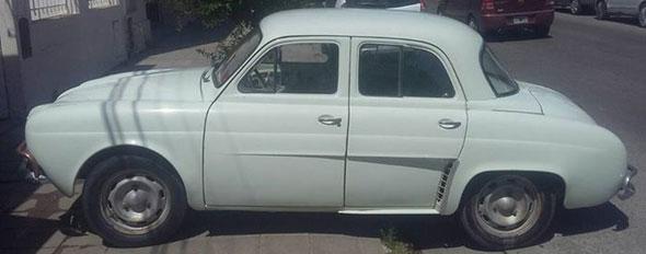 Auto Renault Gordini 850 1969