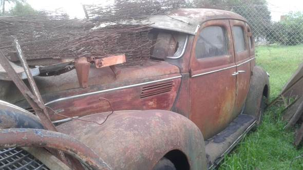 Auto Ford V8 1939