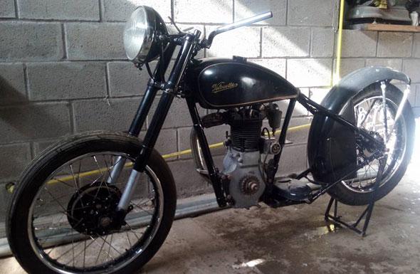 Moto Velocette 350