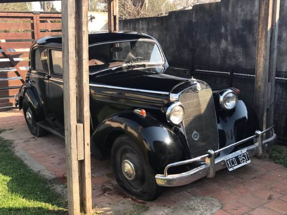 Auto Mercedes Benz 1955
