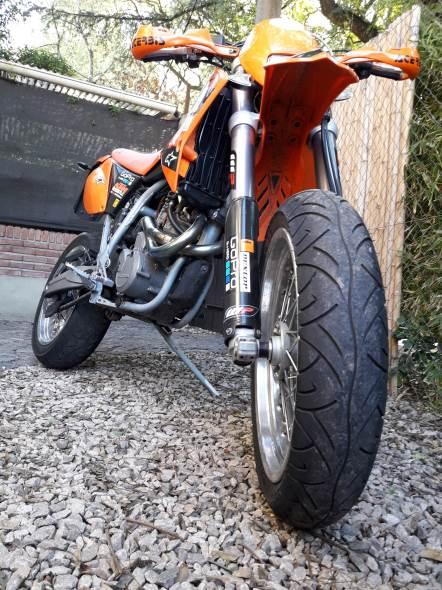 Moto KTM Smc Supermotard