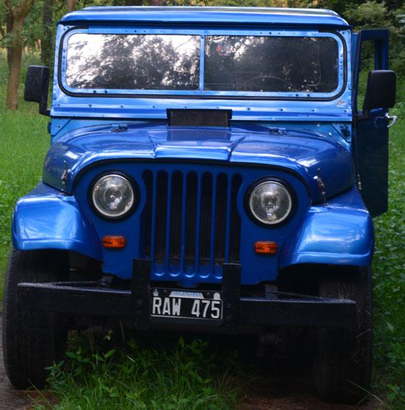 Car Jeep IKA 1964