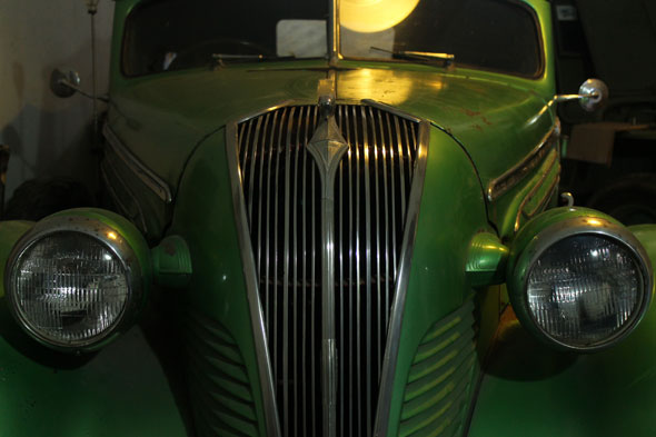 Car Hudson Cabriolet 1937